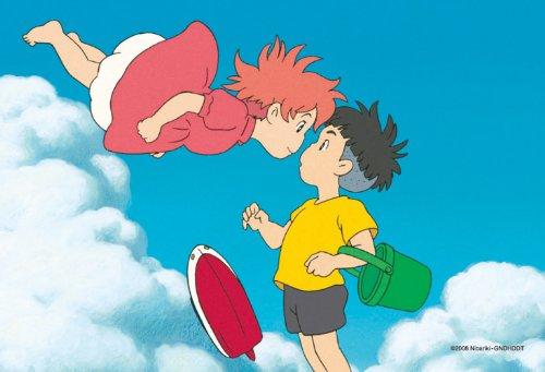150ピース ミニパズル スタジオジブリ シネマart 2ショットシリーズ2 よろしく、宗介! (崖の上のポニョ) 150-G16