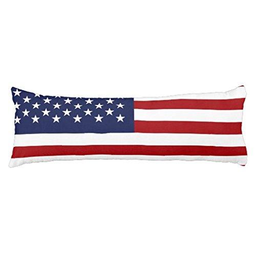 Inghilterra e Bandiera Americana cuscino