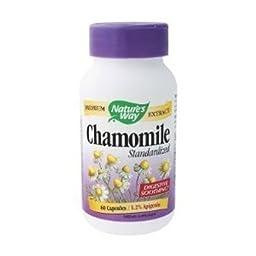 Nature\'s Way - Chamomile Standardized, 60 capsules