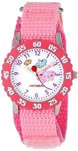 Red Balloon Kids' W000182 Butterflies Stainless Steel Time Teacher Watch