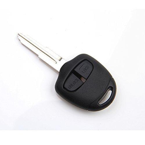 2 Buttons Remote Key Shell Case for Mitsubishi Pajero Triton Lancer Evo (Mitsubishi Lancer Key Shell compare prices)