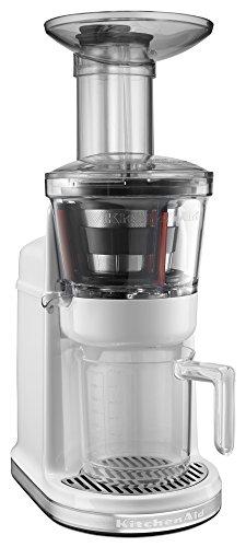 KitchenAid KVJ0111WH Maximum Extraction Juicer, White