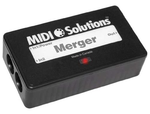 MIDI Solutions Merger 2 Input MIDI Merger Big SALE