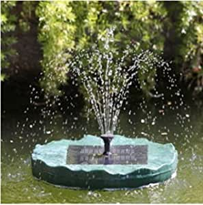 New Solar Powered Floating Lily Garden Pond