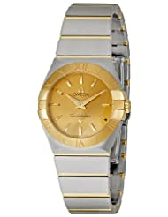 Omega Women's 123.20.27.60.08.001 Champagne Dial Constellation Watch