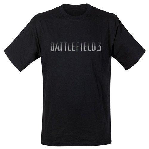 Battlefield 3 - T-Shirt Black On Black (in M)
