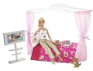 Mattel - L9485 - Poupée - Barbie - Lit + Poupee
