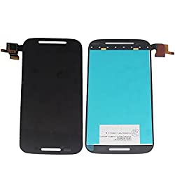Moto E LCD Screen, Universal Buying(TM) LCD Display Touch Screen Digitizer Assembly for Motorola Moto E XT1021 XT1022 XT1025, Black