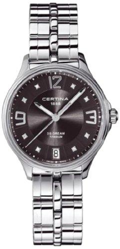Certina Ladies'Watch XS Analogue Quartz Stainless Steel C021,210,44,086,00