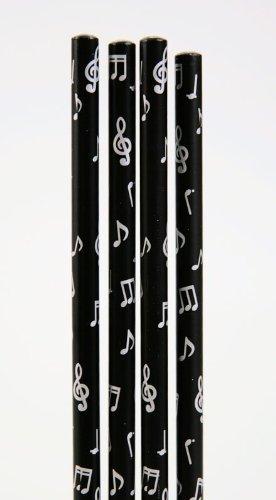 Bleistift-mit-Notenmotiven-10-Stck-Packung-Ideales-Geschenk-fr-Musiker