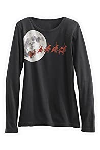 Green 3 Apparel Santa Moon Organic USA made T-shirt