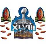 Super Bowl XLVIII Table Decorating Centerpiece Kit 23 pieces! by Super Bowl Party Supplies
