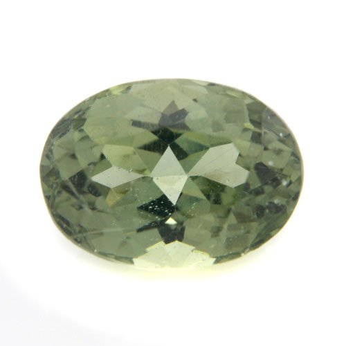 Natural Green Apatite Loose Gemstone Oval Cut 12*9mm 5.50cts SI Grade
