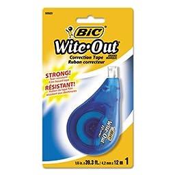 Wite-Out EZ Correct Correction Tape, Non-Refillable, 1/6\