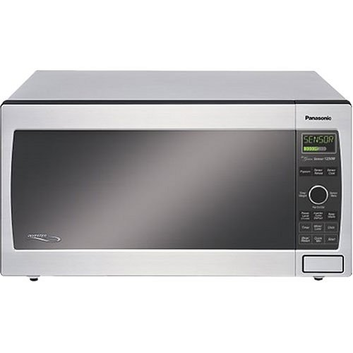 Panasonic Nn-T795Sf Full-Size 1.6-Cubic-Foot 1,250-Watt Microwave Oven, Stainless