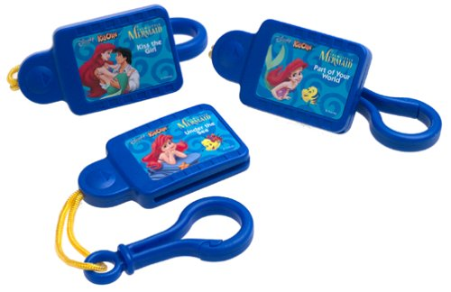 3 Pack Disney Tunes Kid Clips the Little Mermaid (Disney Tunes Kid Clips compare prices)