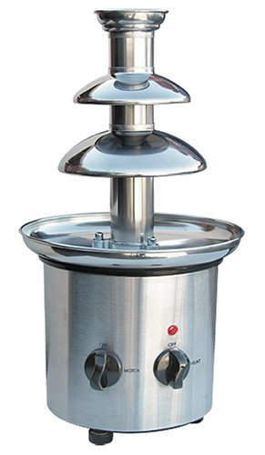 Nostalgia CFF-900 Stainless-Steel Chocolate Fondue Fountain