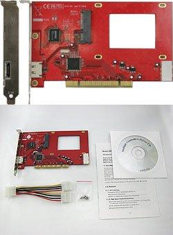 eSATA+2.5SATA-PCI