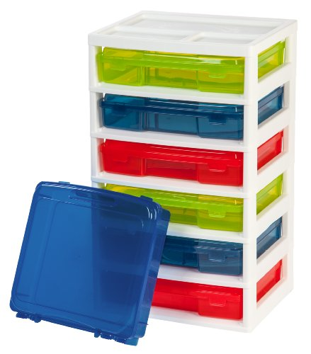 IRIS 6-Case Activity Chest with Organizer Top ...  sc 1 st  Here You Have It! & Best Storage Container for LEGOS - Here You Have It!