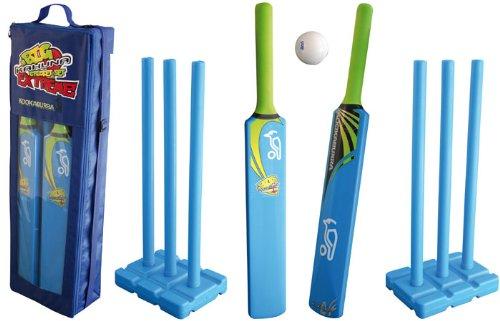 Kookaburra Kids Cricket Big Kahuna Extreme Set - Blue/Black/Green, Size 5