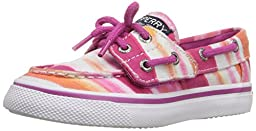 Sperry Top-Sider Ivyfish JR Boat Shoe (Toddler/Little Kid/Big Kid), Pink Watercolor, 8 M US Toddler