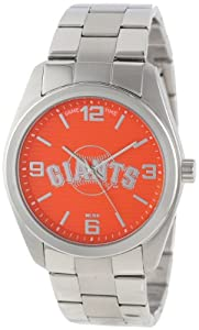 Game Time Unisex MLB-ELI-SF Elite San Francisco Giants 3-Hand Analog Watch by Game Time