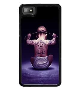 printtech Cool Kid Love Mommy Back Case Cover for BlackBerry Z10