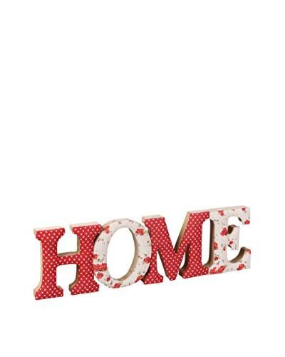 Romantische stijl Wanddeko Thuis Rood / Wit