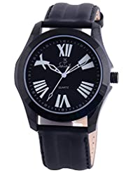 Saint Rizzo Analogue Black Dial Men's Watch (A008)