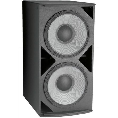 "New Jbl | Ae Series, Compact High Power Single 18"" Subwoofer System, Asb6118 With 1 X 18"" 2242H Svgtm Driver And Large Vent Area For High Output With Low Distortion - Black"