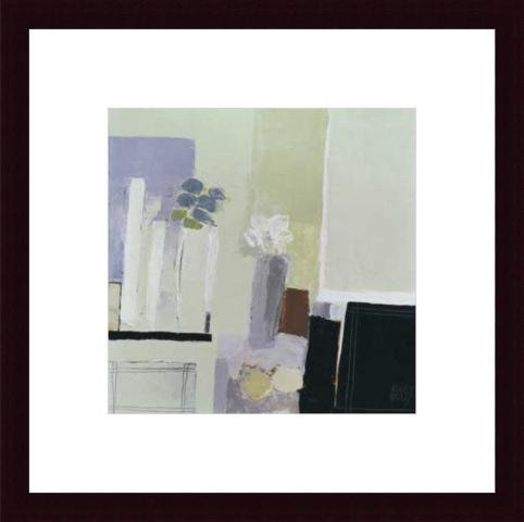 Composition De 2 Bouquets, Framed Art Print by Christian Choisy