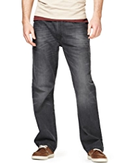 North Coast Straight Fit Front Pocket Denim Jeans