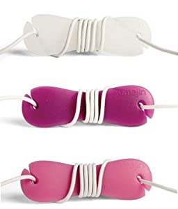 Sumajin Smartwrap Earphone Cord Manager -Pink/Purple/Clear)