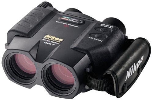 Nikon Stabileyes 14X40 Image Stabilization Waterproof Binoculars With Case, Neck Strap & Batteries