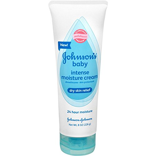 Johnson's Baby Intense Moisture Cream- 8 oz