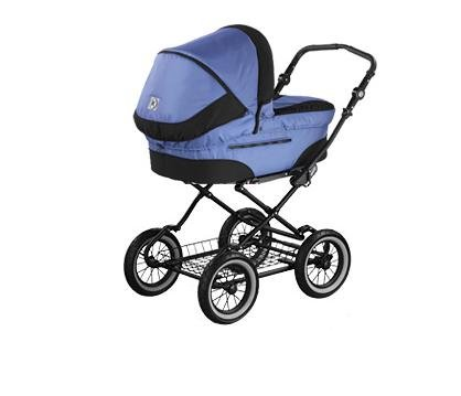 Fantastic Deal! Roan Rocco Classic Pram Stroller 2-in-1 with Bassinet and Seat Unit 6 (Six) Colors -...