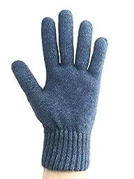 PossumDown Lightweight Brushtail Possum Merino Wool Blend Gloves (Large, Aviator)