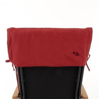 Hochlehner Auflagen 6er Set mit Tasche - rot von benedomi bei Gartenmöbel von Du und Dein Garten