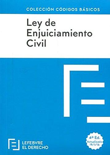 Ley de Enjuiciamiento Civil (Códigos Básicos)