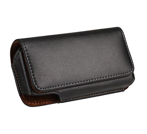 iPhone 7 Plus 6S Plus 6 Plus Belt Holster Pouch Yuzihan Horizontal Premium Genuine Leather Pouch Belt Holster Case For Galaxy Note 5 4 3 2 S6 Edge Plus (Iphone 4 Belt Holder compare prices)