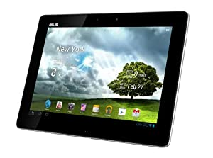 Asus Transformer Pad TF300T 25,7 cm (10,1 Zoll) Convertible Tablet-PC (NVIDIA Tegra 3, 1,2GHz, 1GB RAM, 32GB eMMC, NVIDIA 12 GeForce, Touchscreen, Android 4.0) weiß