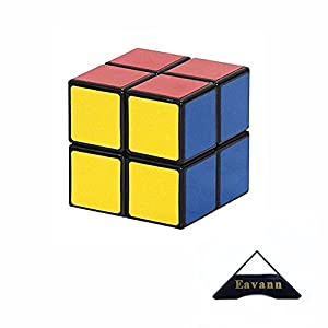 Shengshou Speed Cube Puzzle Magic Cube Set of 4 2x2 3x3 4x4 5x5 with Eavann Stand