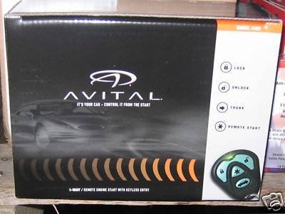 Avital 4103LX Remote Start System with Two 4-Button Remote (Auto Starter compare prices)