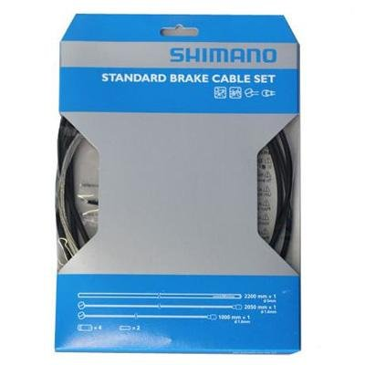 Shimano 2013 Steel MTB Bicycle Brake Cable Set - Y80098022