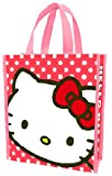 Vandor Hello Kitty Small Recycled Shopper Tote, 10 by 12 Inches, Pink