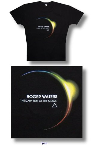 Pink Floyd 'Roger Waters Eclipse' Women's / Juniors black lightweight t-shirt (Small)