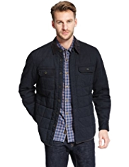 North Coast Pure Cotton Quilted Shacket