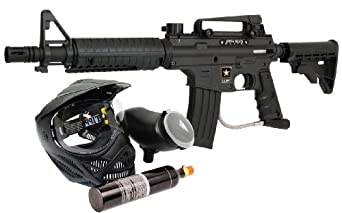 Buy Tippmann US Army Alpha Elite Powerpack Paintball Marker by US Army