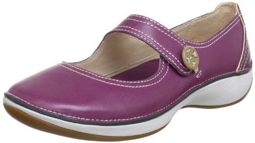 Clarks Fairlie Lake Durchgängies Plateau Womens Purple Violett (Magenta Leather) Size: 7 (41 EU)