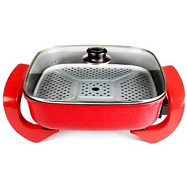 Korean Style No. 615 Multifunction Red Cooker